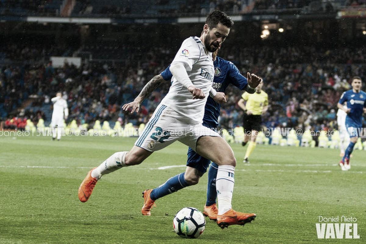 Isco, 150 partidos en Liga como madridista