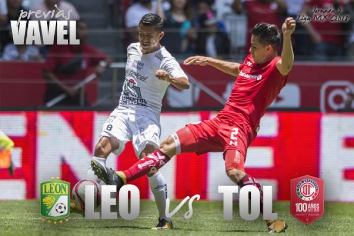 Liga Mx: León vs Toluca, 13 de enero, En Vivo