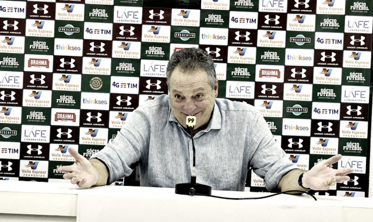"""Abel gosta de partida contra o Vasco: """"Foi interessante"""""""