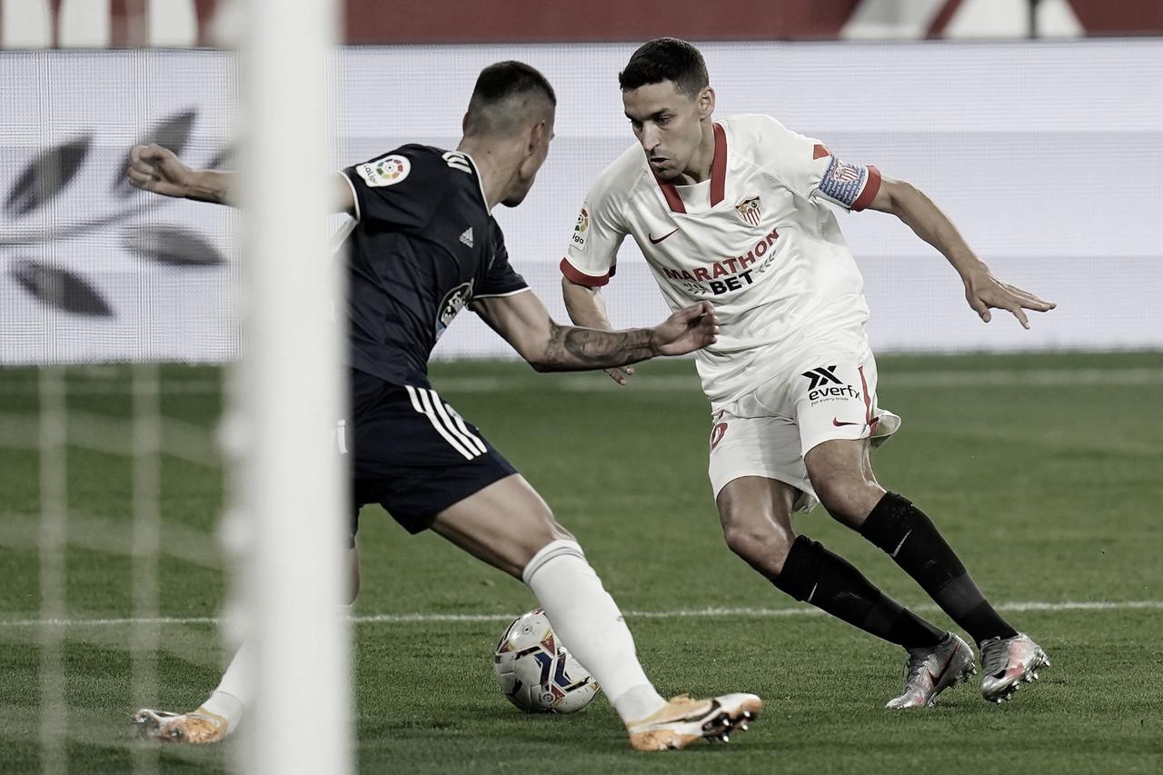 Sevilla FC - RC Celta: puntuaciones del Sevilla FC, 10ª Jornada de LaLiga