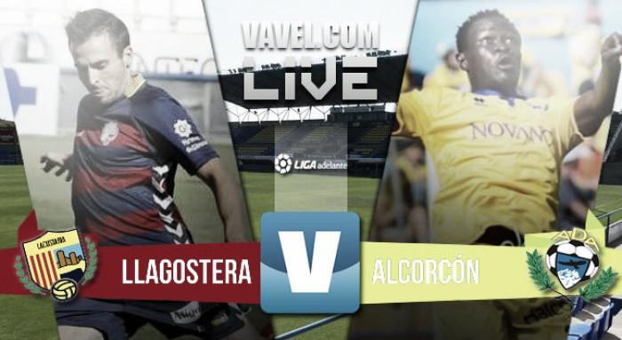Resultado UE Llagostera - AD Alcorcón en Liga Adelante 2016 (4-0)