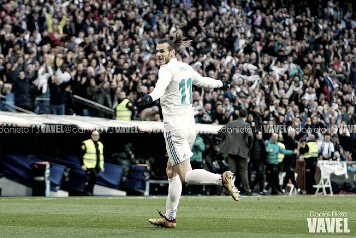 Gareth Bale, primer jugador en llegar a los cinco goles en Liga