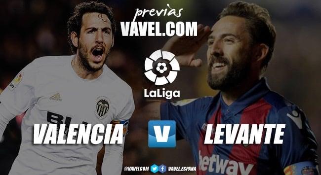 Previa Valencia CF - Levante UD: el Levante, al asalto de Mestalla