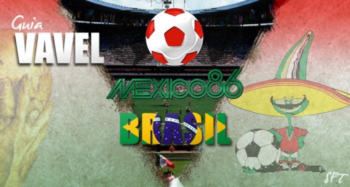 Guía VAVEL Mundial México 1986: Brasil
