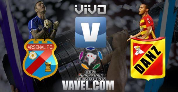 Resultado Arsenal de Sarandí - Deportivo Anzoátegui por Copa Libertadores (3-0)