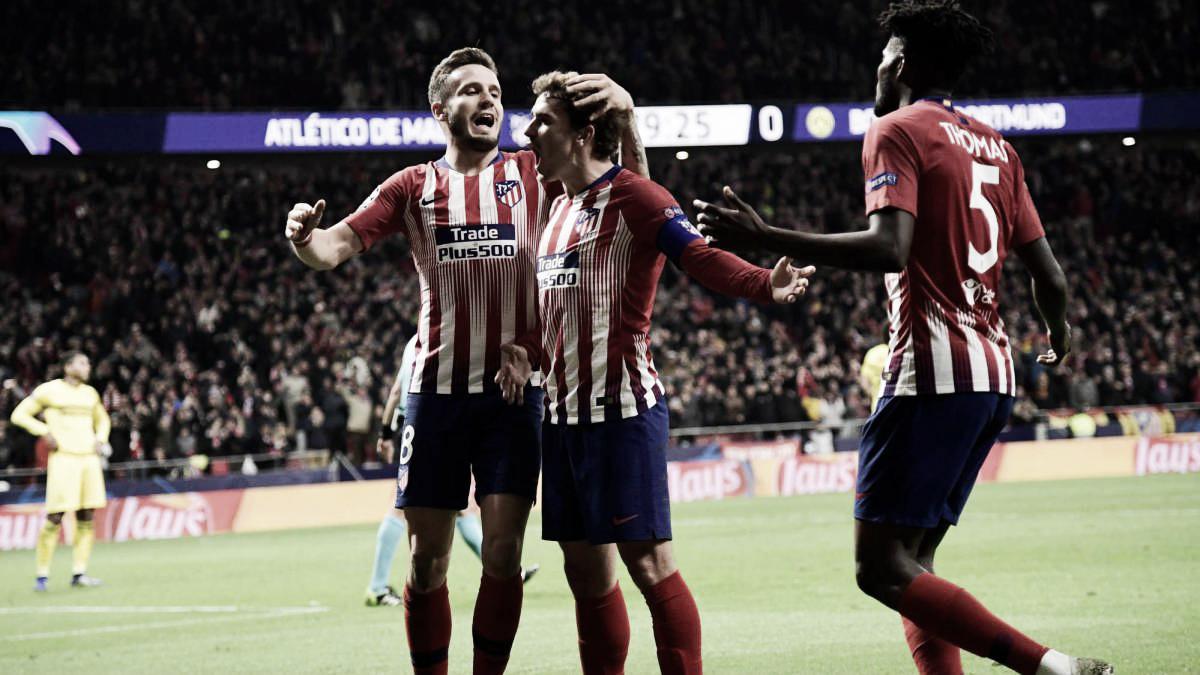 Atlético de Madrid vs Borussia Dortmund: puntuaciones del Atlético, jornada cuatro de la Champions League