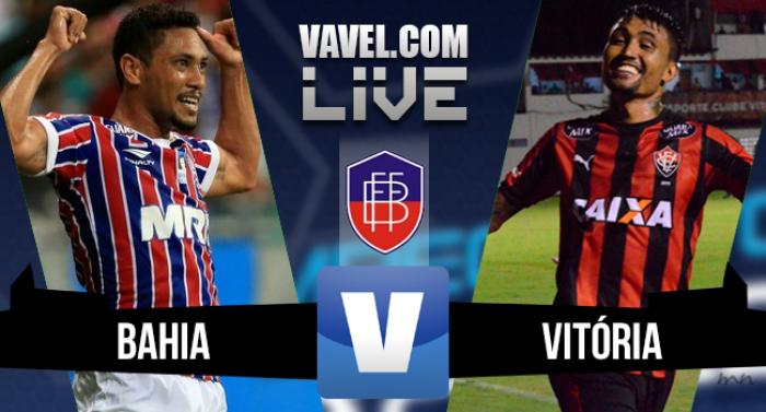Resultado Bahia x Vitória na final do Campeonato Baiano 2016 (1-0)