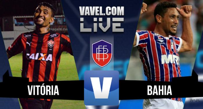 Resultado Vitória x Bahia na final Campeonato Baiano (2-0)