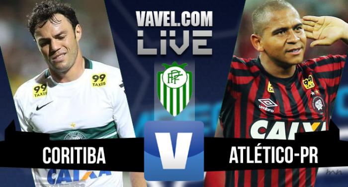 Resultado Coritiba x Atlético-PR na final Campeonato Paranaense 2016 (0-2)