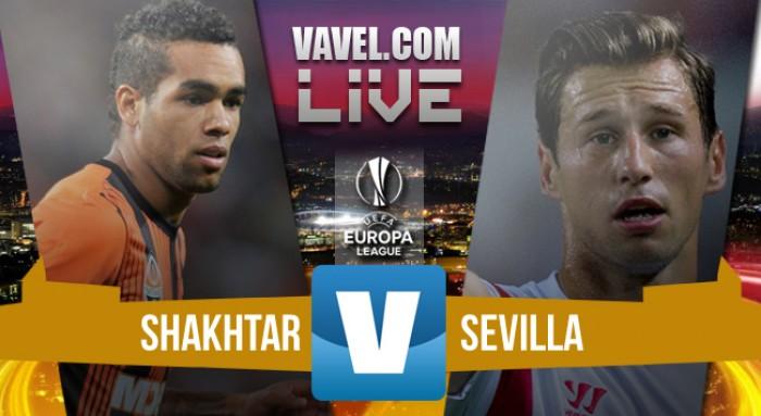 Shakhtar Donetsk - Siviglia in Europa League 2016 (2-2): pareggio che sorride agli spagnoli