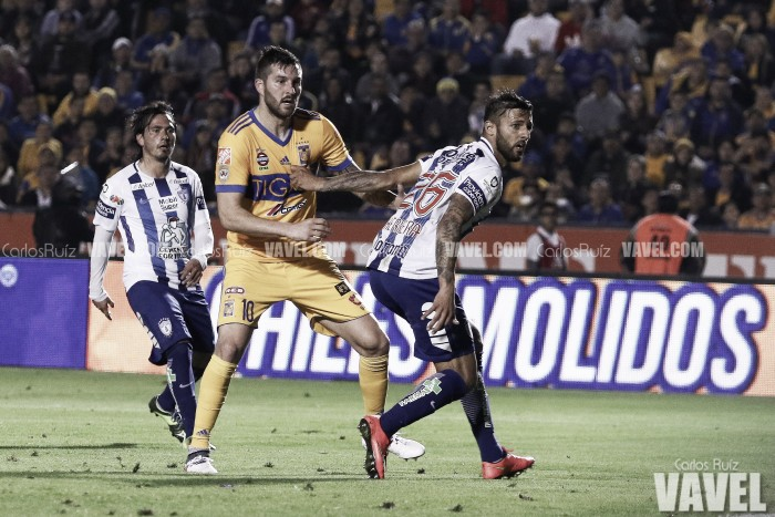 Volcánica noche de futbol en San Nicolás; Tigres pudo más