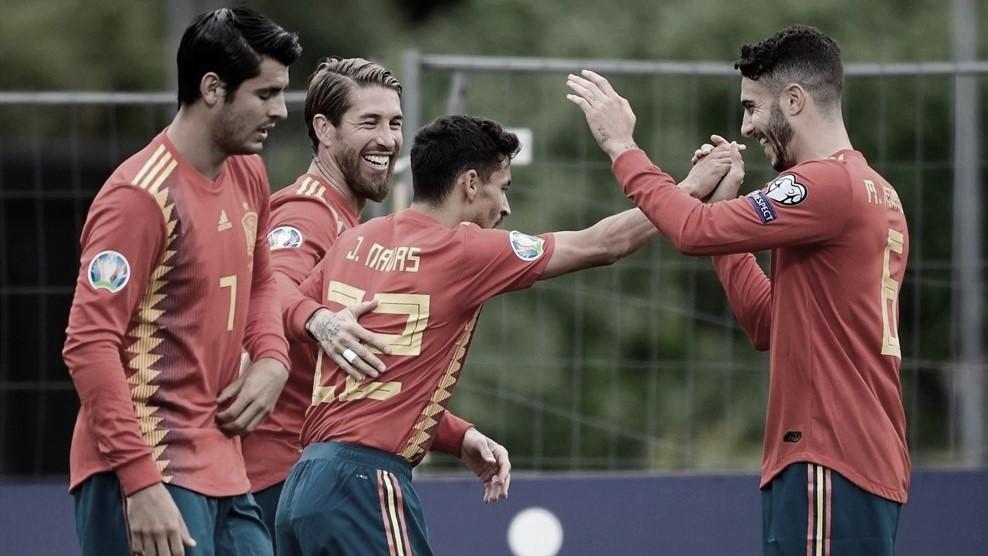 Previa España-Suecia: duelo por el liderato del grupo F