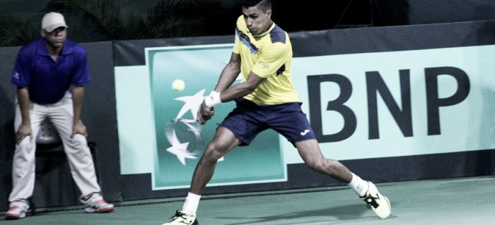 Thiago Monteiro vira partida contra Cid e empata o confronto para o Brasil na Davis