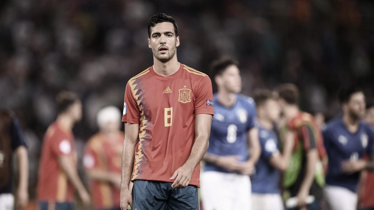 España sucumbió ante Italia