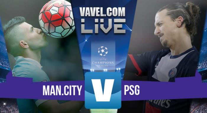 Resultado Manchester City x PSG na Uefa Champions League 2015/16 (1-0)