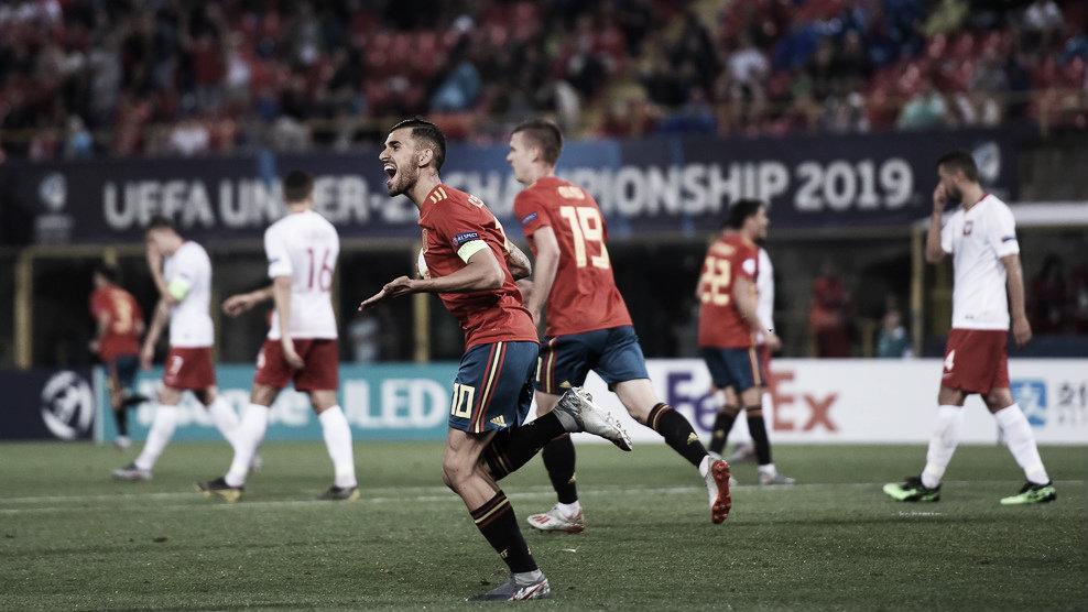 España 5-0 Polonia: a semis maravillando en Europa