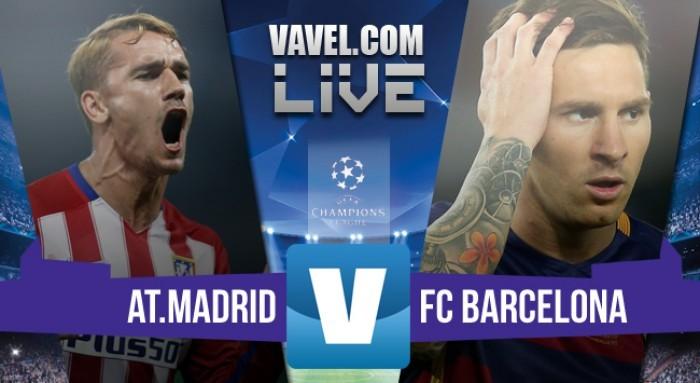 Atletico Madrid - Barcellona in Champions League 2016 (2-0): doppio Griezmann, Atletico ai quarti!