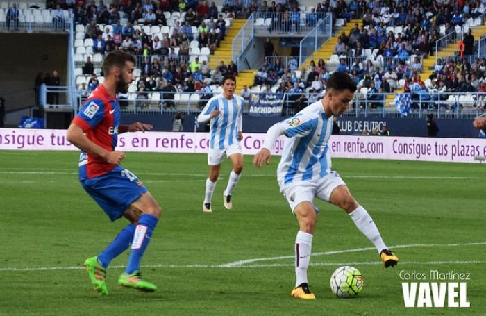 El Málaga mandó al Levante al infierno