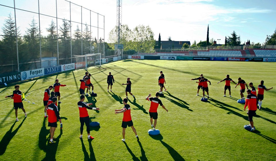 Simeone deja a las estrellas en Madrid