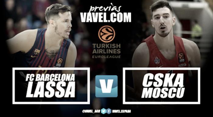Previa Barcelona Lassa - CSKA Moscow: a seguir con la racha de victorias ante el líder de la Euroliga