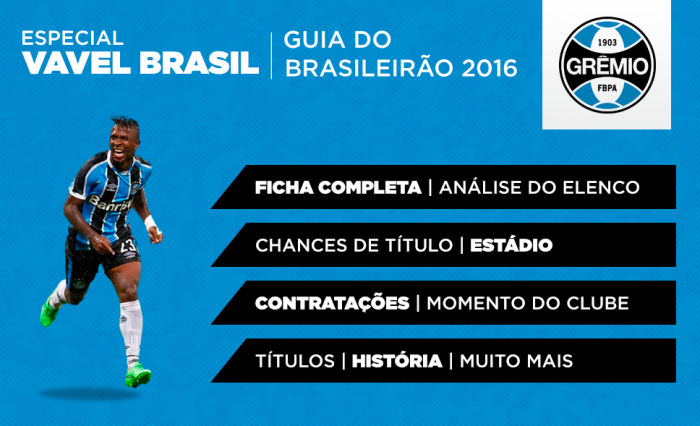 Grêmio 2016: futebol moderno de Roger Machado torna Tricolor candidato ao título brasileiro
