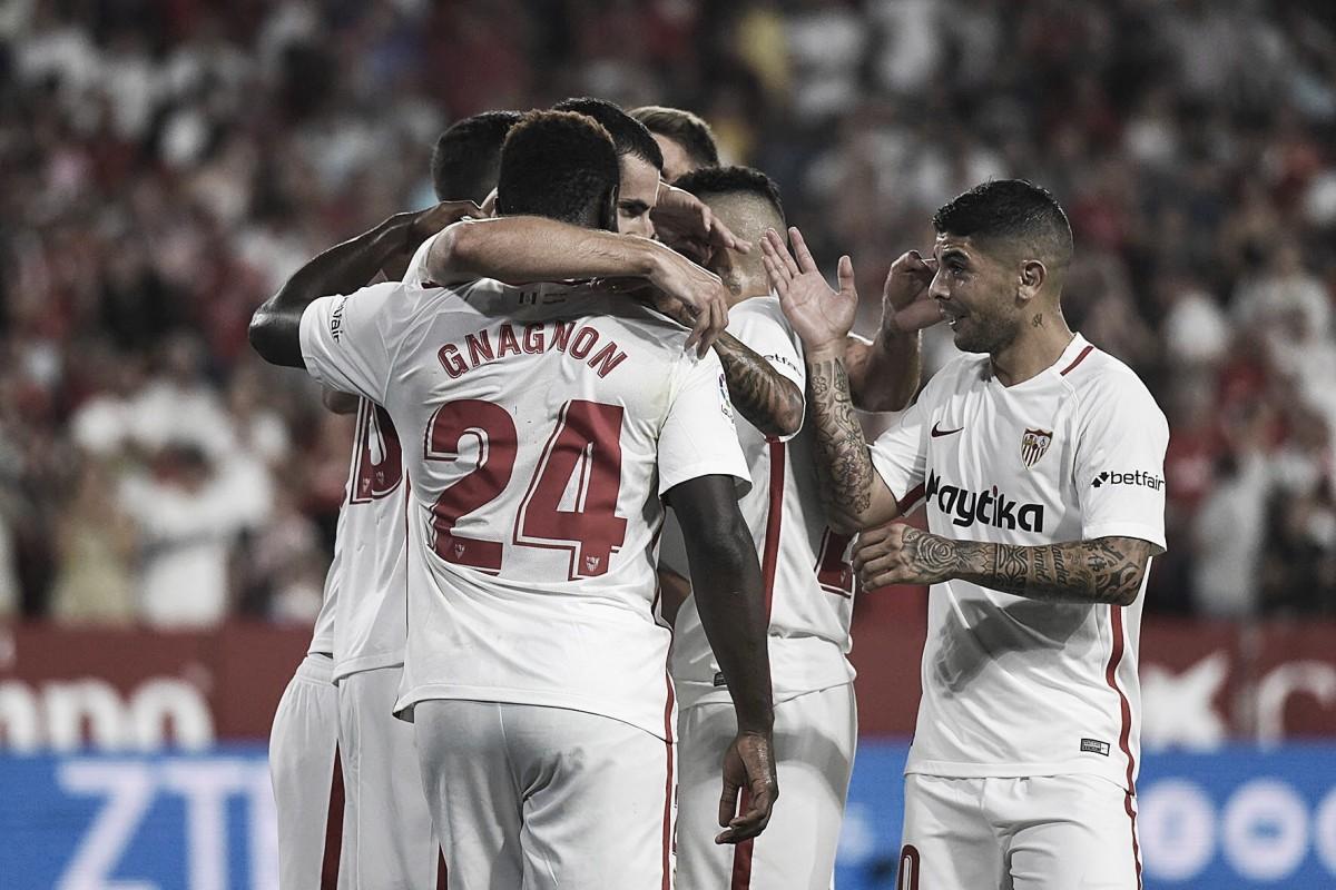 Sevilla vence Sigma novamente e garante vaga na fase de grupos da Europa League
