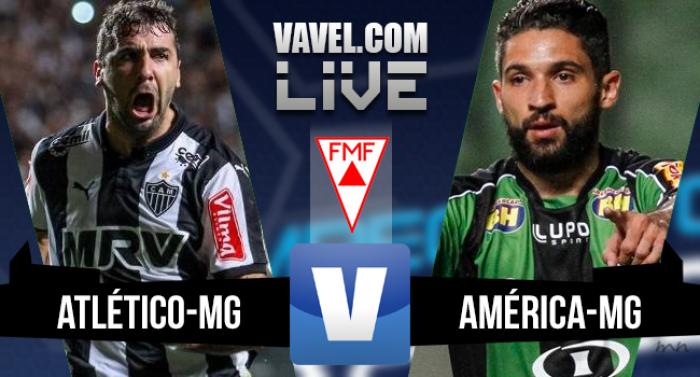 Resultado Atlético-MG x América-MG na final do Campeonato Mineiro 2016 (1-1)