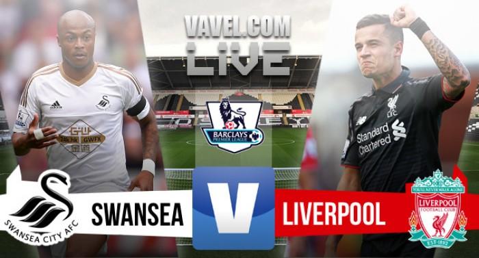 """Swansea 3-1 Liverpool: Ayew daña la herida """"red"""""""
