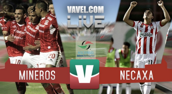 Mineros vs Necaxa en vivo y en directo online en Final Ascenso MX 2016 (0-0)