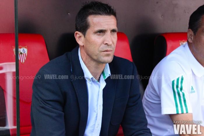 """Juan Merino: """"El equipo ha estado bien, solo nos ha faltado llegar un poco más"""""""