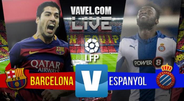 Resultado Barcelona x Espanyol no Campeonato Espanhol (5-0)