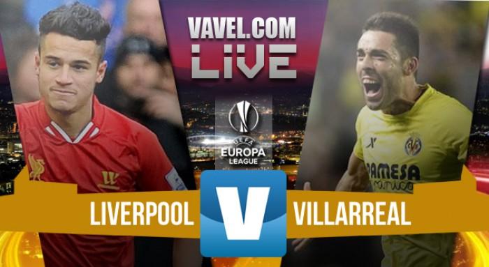 Resultado Liverpool x Villarreal pela semifinal da Europa League (3-0)