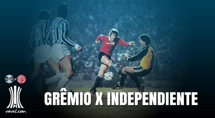 Relembre: em sua segunda final de Libertadores, Grêmio parou no maior campeão Independiente