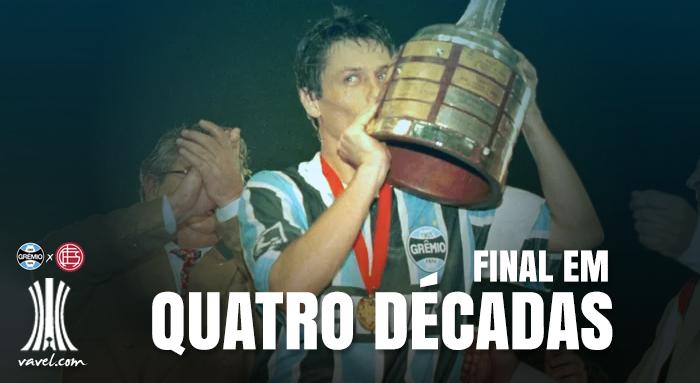 Grêmio é primeiro brasileiro a decidir Libertadores em quatro décadas diferentes