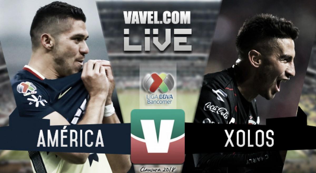 Resultado del América 0-0 Xolos en Liga MX 2018