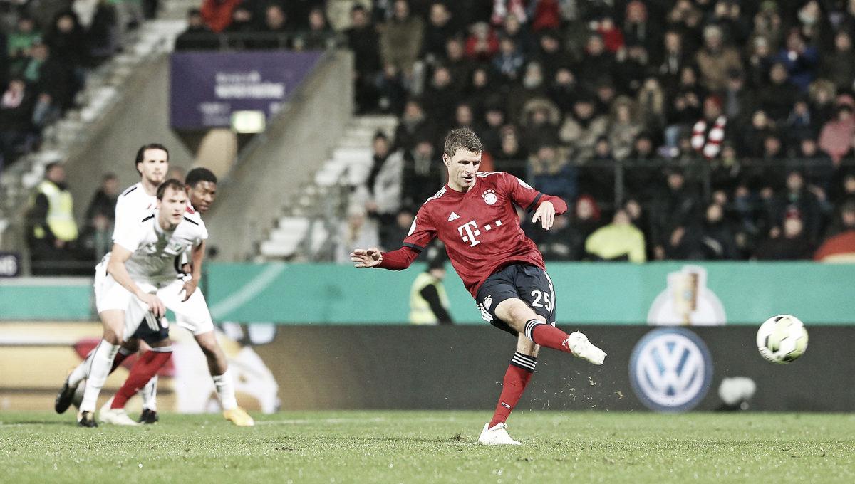 Bayern de Munique bate SV Rödinghausen e avança na Copa da Alemanha