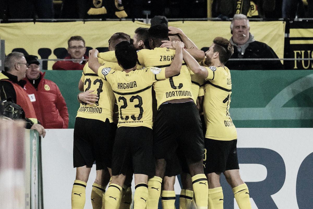 Reus marca no fim da prorrogação e Borussia Dortmund elimina Union Berlin na Pokal