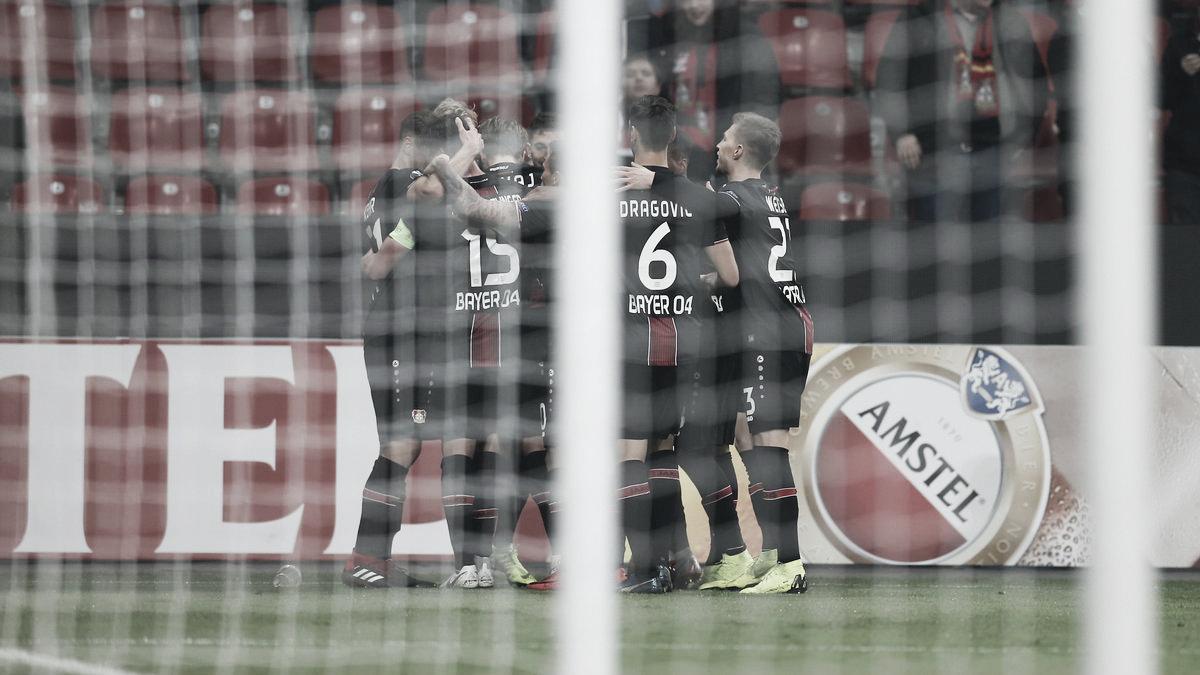 Bayer Leverkusen vence Zurich e assume liderança do Grupo A na Europa League