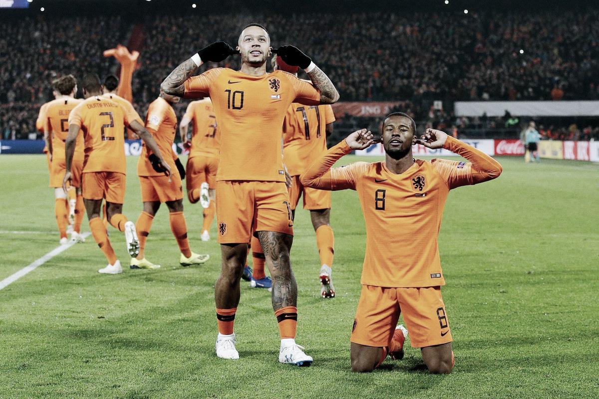 Holanda vence França e sacramenta rebaixamento da Alemanha na Liga das Nações