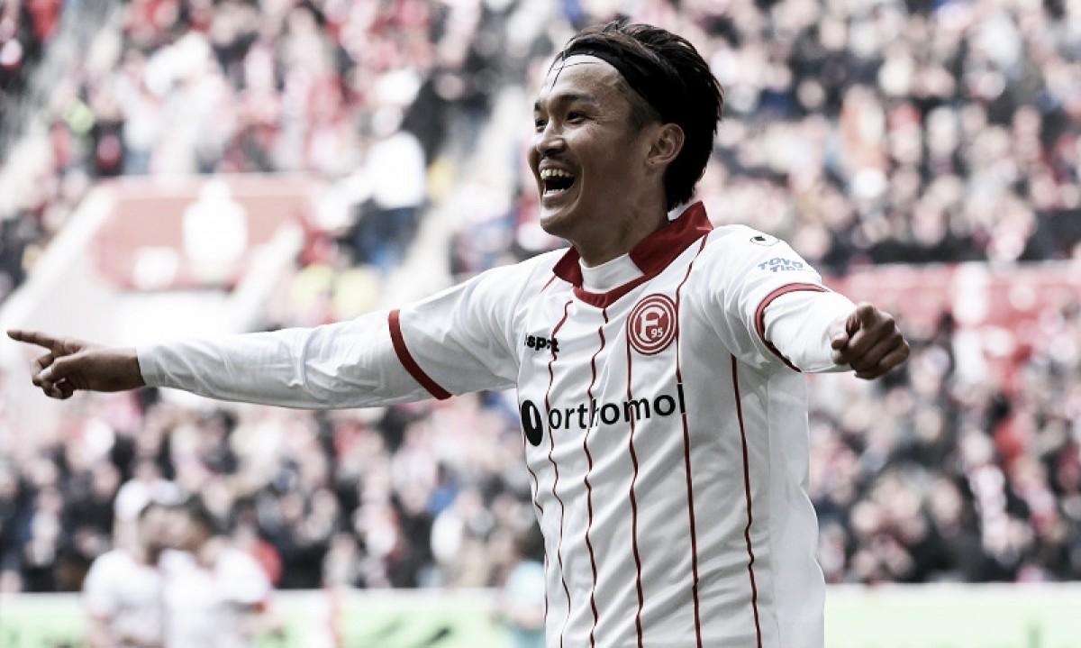 Fortuna Düsseldorf anuncia renovação de empréstimo de Takashi Usami por uma temporada