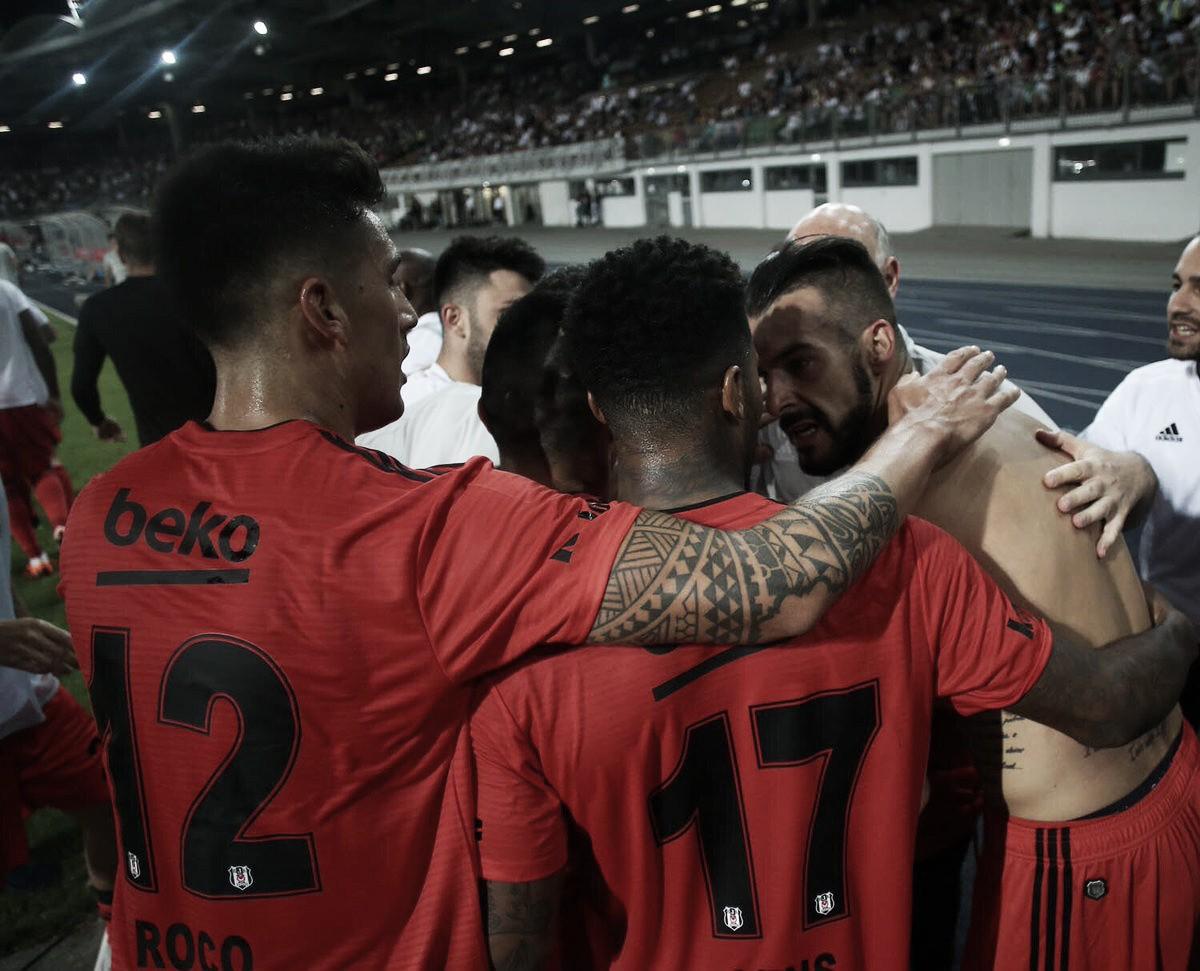 LASK faz dois, mas Negredo marca no fim e garante classificação do Besiktas na Europa League