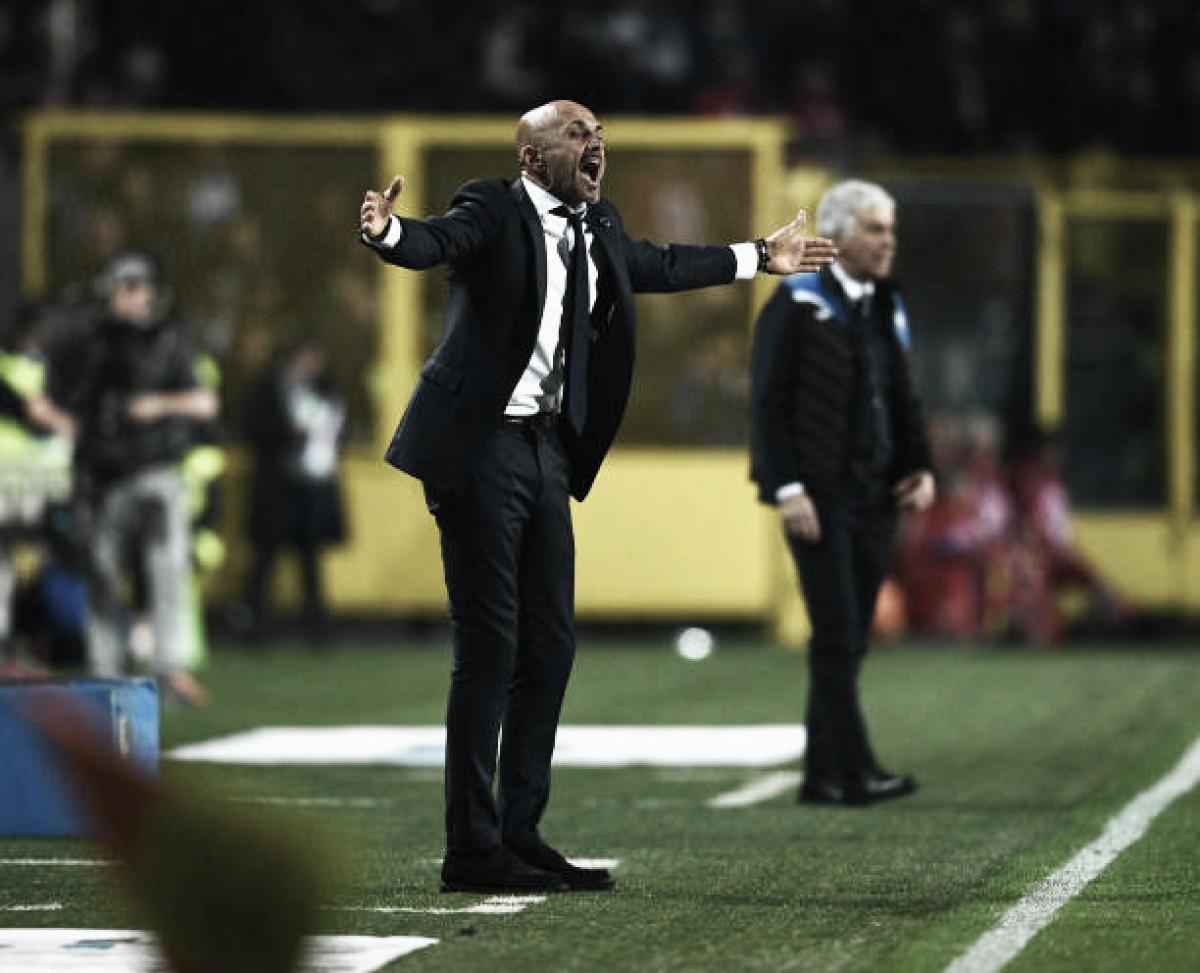 """Spalletti ignora falta de gols da Internazionale: """"Não é um problema"""""""