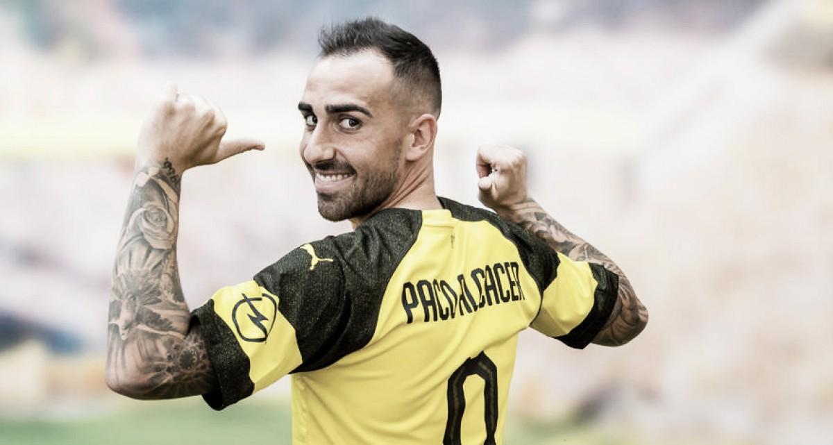 Borussia Dortmund anuncia contratação de Paco Alcácer por empréstimo junto ao Barcelona