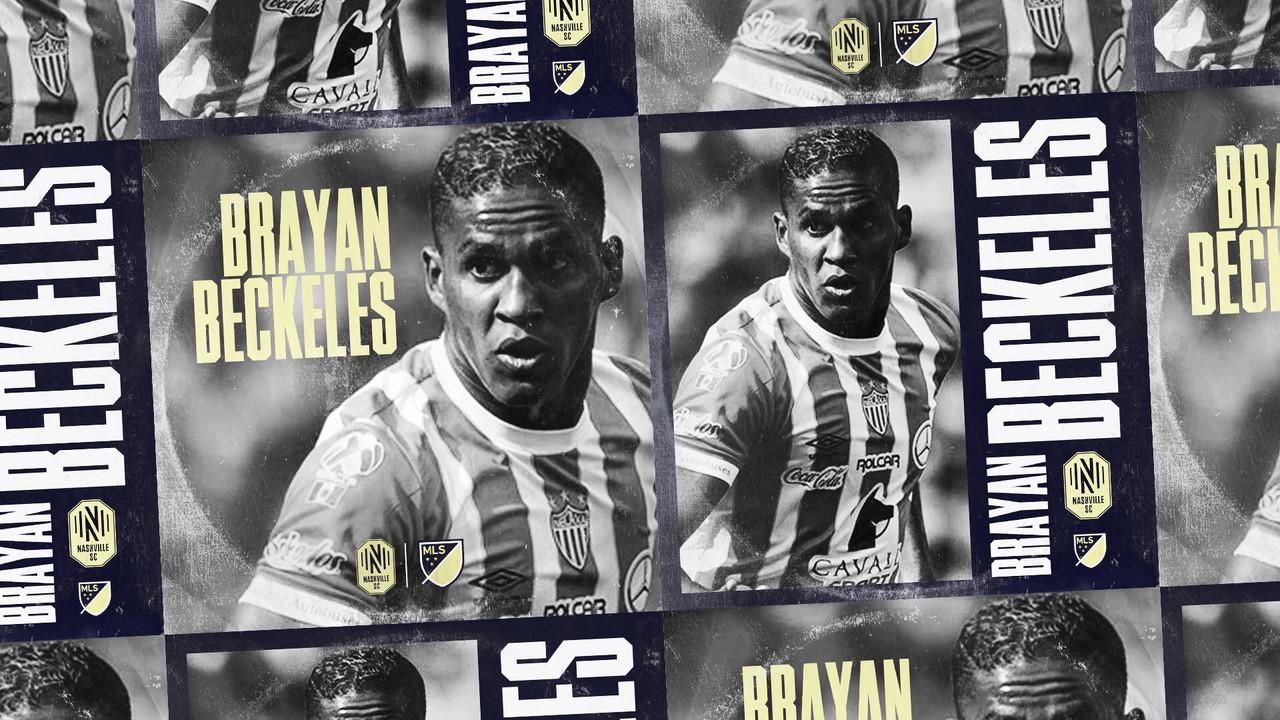 Nashville SC incorpora a Brayan Beckeles