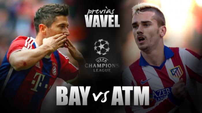 Bayern de Munique busca reverter vantagem do Atlético de Madrid em busca da tríplice coroa