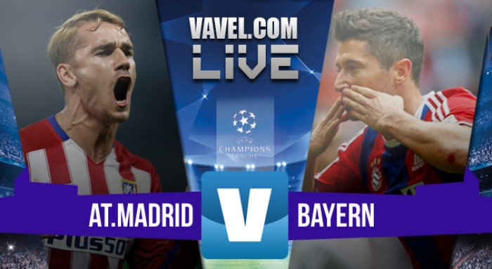 Atletico Madrid - Bayern Monaco in Champions League 2016 (1-0): Saul decide l'andata