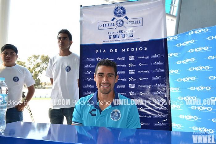 """Patricio Araujo: """"Nos hemos puesto como meta estar concentrados los 90 minutos"""""""