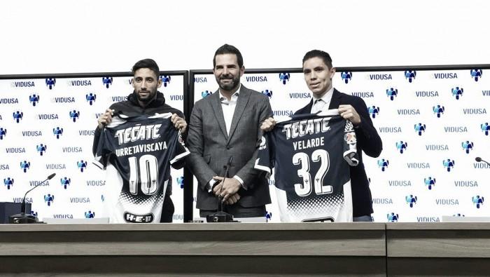 Monterrey presentó a sus refuerzos de cara al Clausura 2018