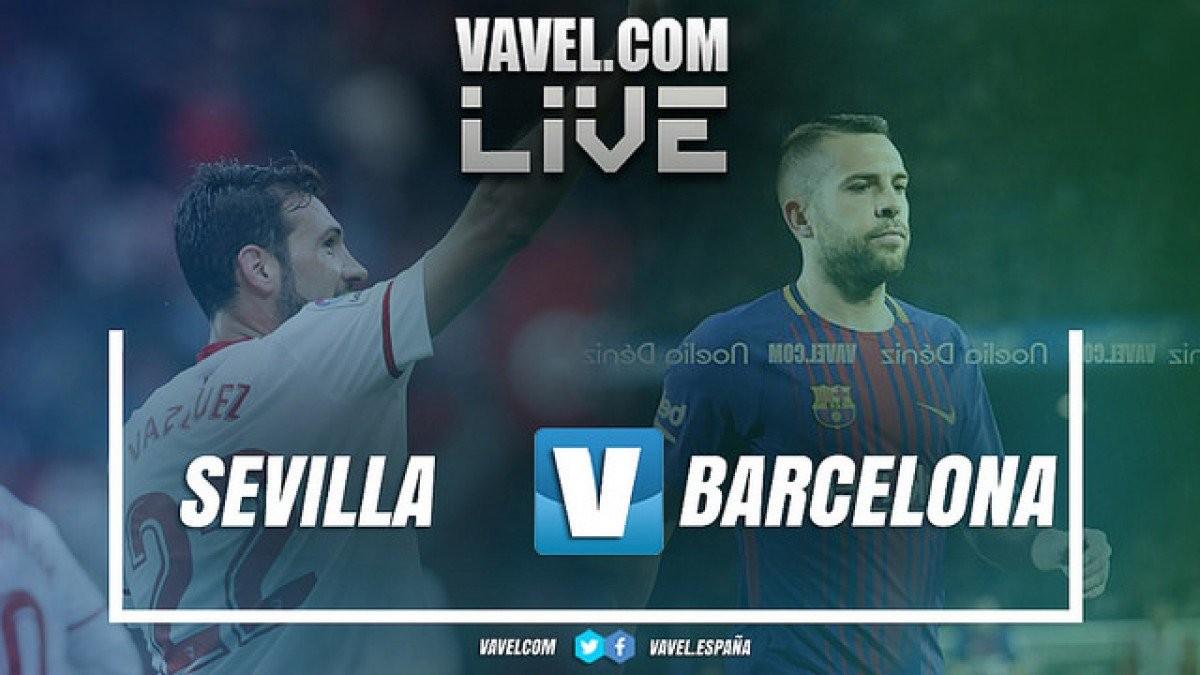 Resultado Barcelona x Sevilla na final Copa do Rei (5-0)