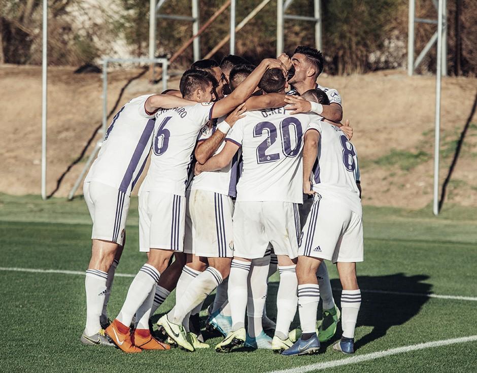 El Real Valladolid Promesas, a un punto del líder